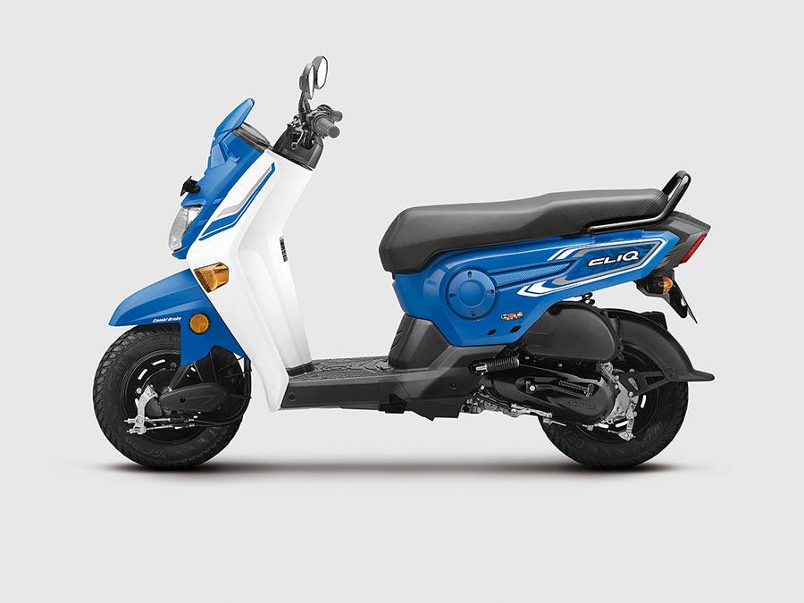 Honda S New Gearless Bike Honda Cliq Photos Are Here