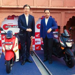 New Honda CLIQ 110cc Scooter Introduced in India