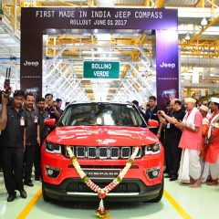 First Made in India JEEP Compass rolled out Today (June 1)