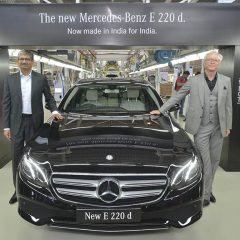 Mercedes-Benz launches the new E-class 220 d