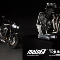 Triumph to supply engines to FIM Moto2 World Championship from 2019