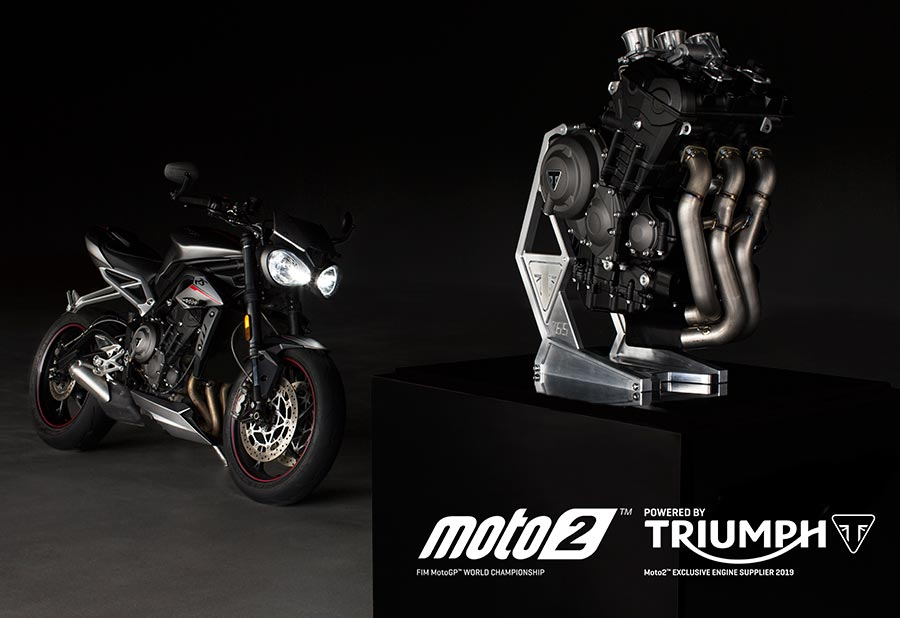 Moto 2 and Triumph Motorcycles Partners