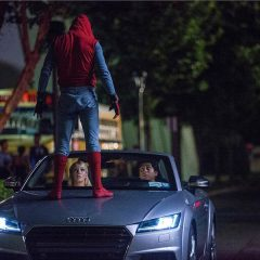 New Audi A8 debuts in Spider Man Homecoming