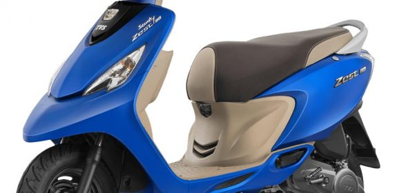 TVS Scooty Zest 110 Colors – Yellow, Red, Black, Blue, Pink, Orange and More