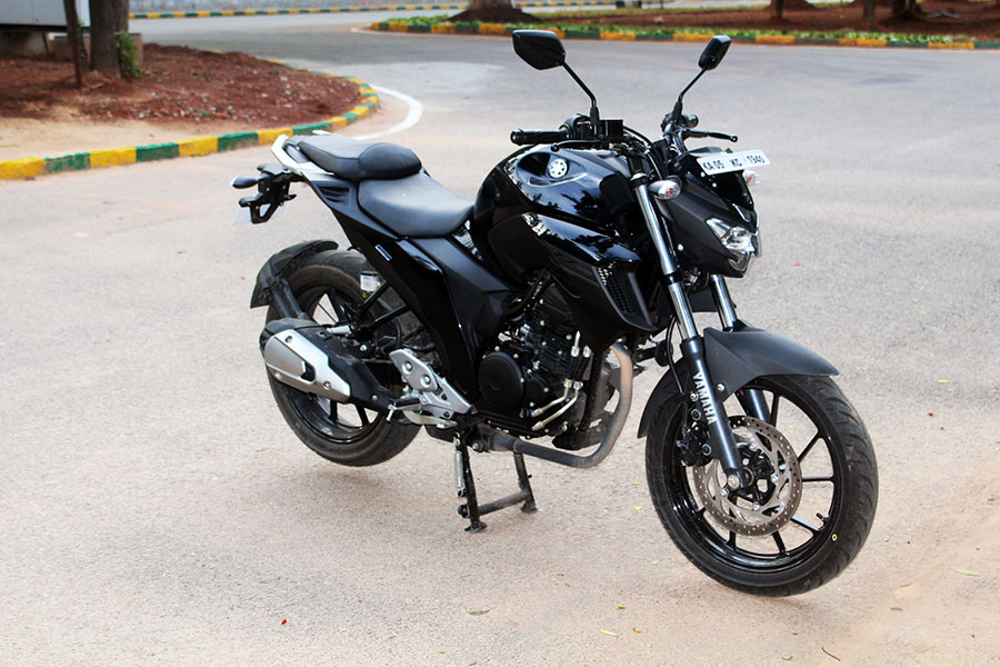 Yamaha Cross View Fz Review Knight Black Perfect Powerful Cc