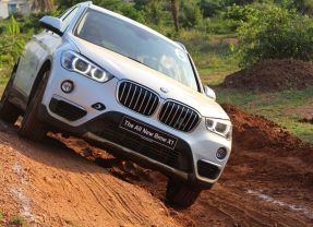 BMW X1 (Facelift)-Off road Experience
