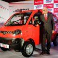Mahindra Jeeto Mini van launched