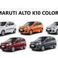 Maruti Alto K10 Colors