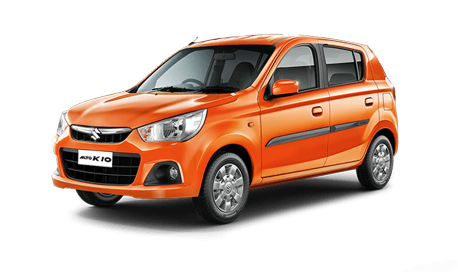 Maruti Alto K10 Tango Orange Color