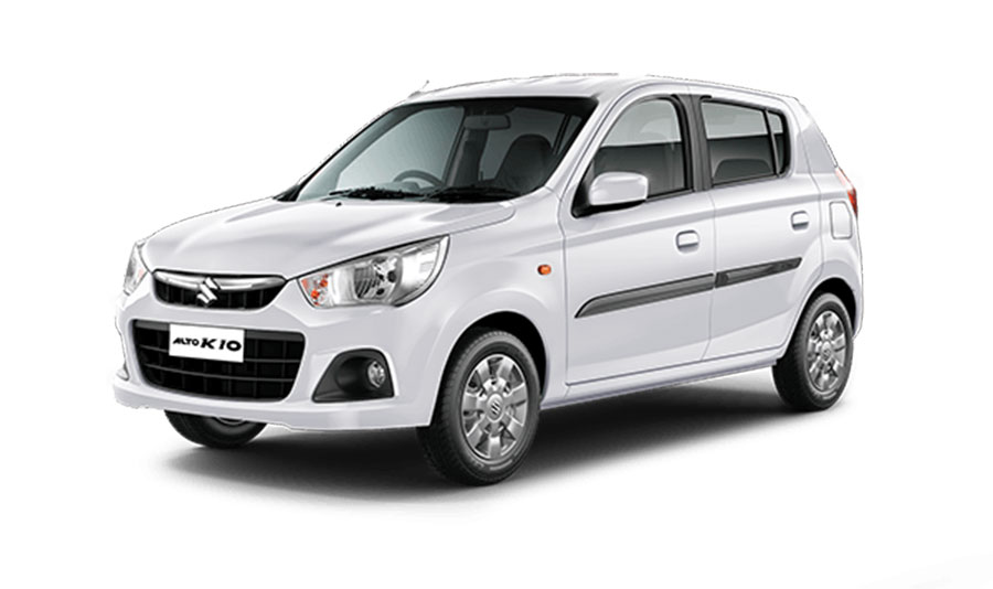 Maruti Alto K10 Superior White Color