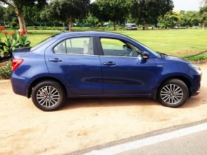 Maruti Dzire Green Background