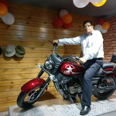 UM Motorcycles Open New Showroom in Karnal
