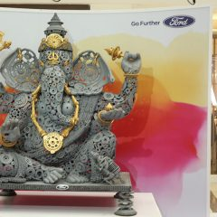 Ford Unveils a Unique Ganesha Installation Made of Spare Parts