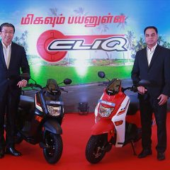 Honda CLIQ Launched in Tamil Nadu at Rs. 44,524