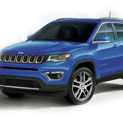 Jeep Compass Colors: White, Red, Grey, Blue, Black