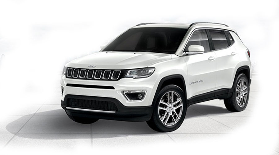 Jeep Compass Colors: White, Red, Grey, Blue, Black - GaadiKey