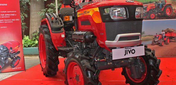 Mahindra JIVO Small Tractor Launched at INR 4 Lakhs (Bengaluru)