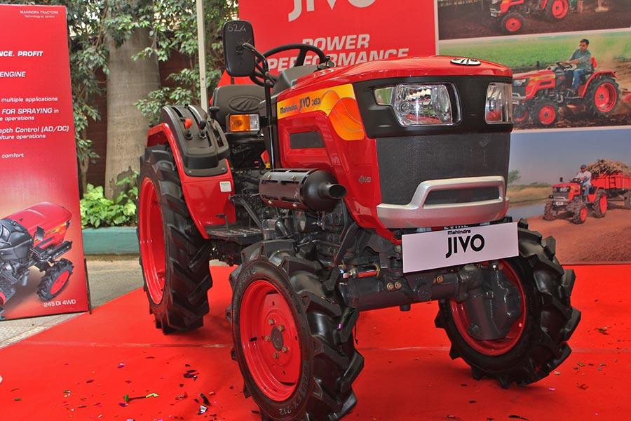 Mahindra JIVO Small Tractor Launched at INR 4 Lakhs