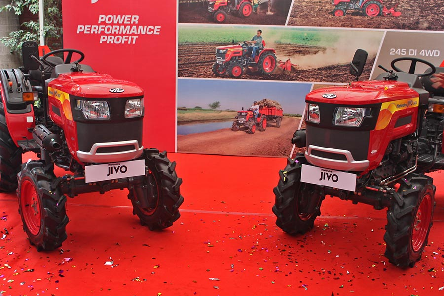 Mahindra JIVO Small Tractor Launched at INR 4 Lakhs