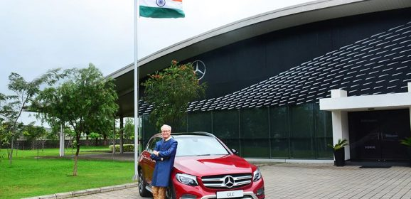 Mercedes-Benz Celebrates 70 Years of India's Independence; Launches Special GLC