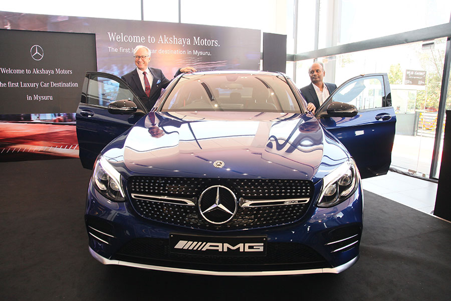 Mercedes Benz Showroom Opened In Mysore Akshaya Motors Gaadikey