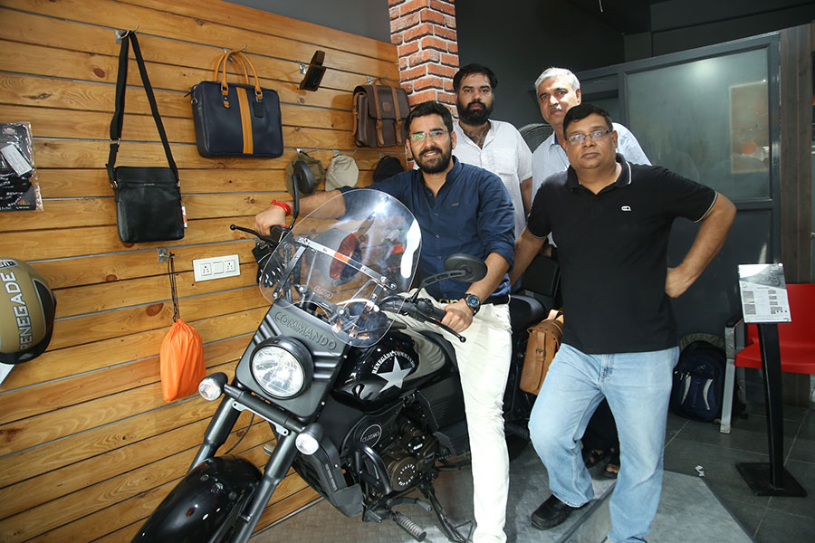 UM Motorcycles Rohtak Dealership