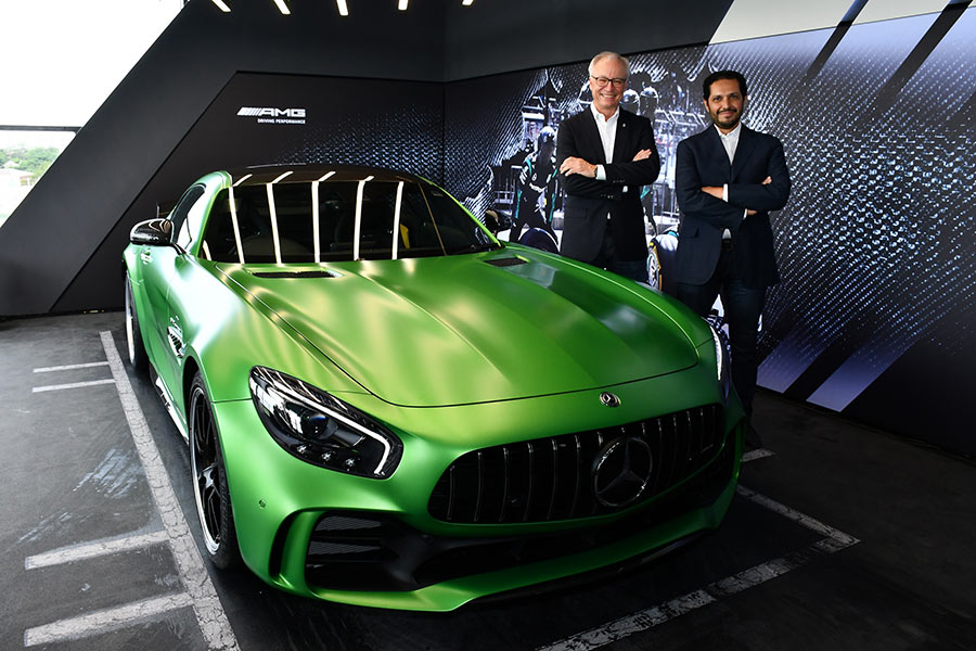 Mercedes Benz Opens 7th Amg Performance Center In India