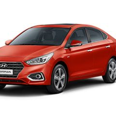 2017 Hyundai Verna Colors: Red, Orange, Black, White, Brown, Silver, Star Dust