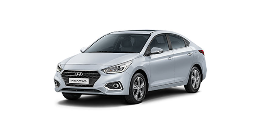 Find The Photo Of All New 2017 Hyundai Verna In Sleek Silver Color Variant