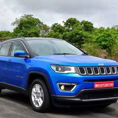 Jeep  Compass Bookings cross 10,000 mark