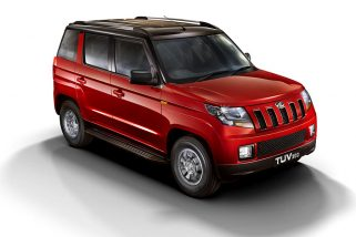 Mahindra TUV300 T10 Variant Introduced at INR 9.66 Lakhs
