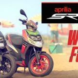 Aprilia SR 150 'What The Fun Campaign' Unveiled