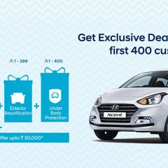 Hyundai's HyBUY Offers for First 400 Xcent Customers in September