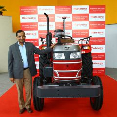 Mahindra's Driverless Tractor is the First in India