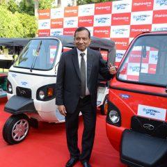 Mahindra e-Alfa Mini Electric Rickshaw Launched