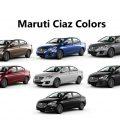 All New Maruti Ciaz Colors