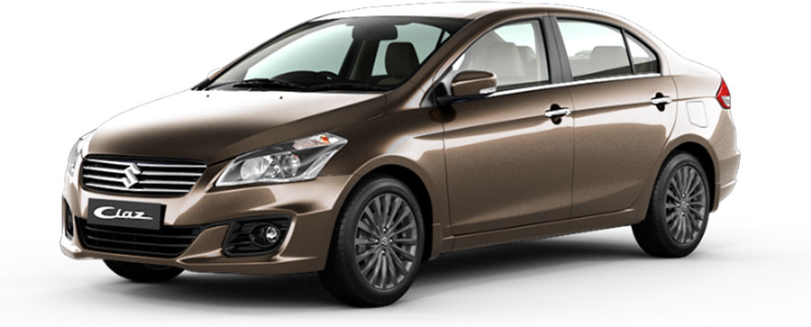 Maruti Ciaz Brown Color - Maruti Ciaz Metallic Dignity Brown Color
