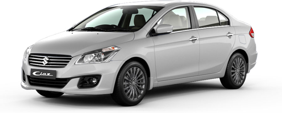 Maruti Ciaz Pearl Snow White Color - Maruti Ciaz White Color Option