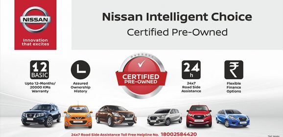 Nissan launches Pre-owned car business in India: Nissan Intelligent Choice