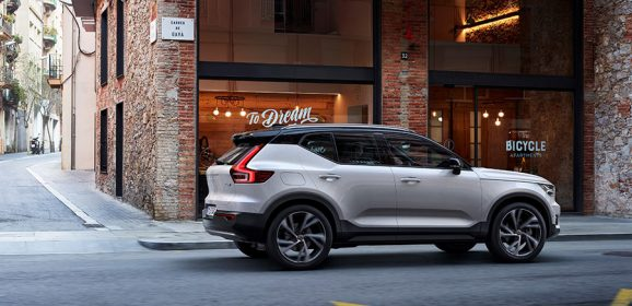All New Volvo XC40 Small Premium SUV Launched in Milan, Italy