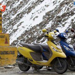TVS Zest Traverses over 970 kms in 11 days; Completes Himalayan Highs Season 3