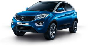 Tata Nexon Blue Color