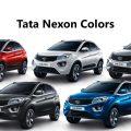 All Tata Nexon Color Variants