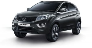 Tata Nexon Grey Color Black