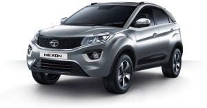 Tata Nexon Platinum Color