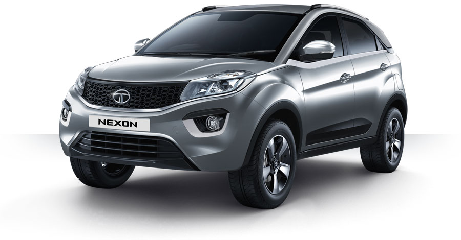 Tata Nexon Silver Color Variant | Tata Nexon Seattle Silver Color