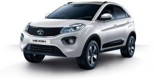 Tata Nexon White Color Pearlscent White Color