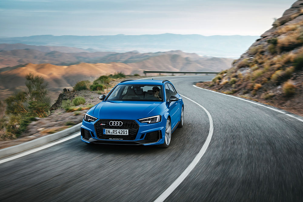 The All New Audi RS 4 Avant