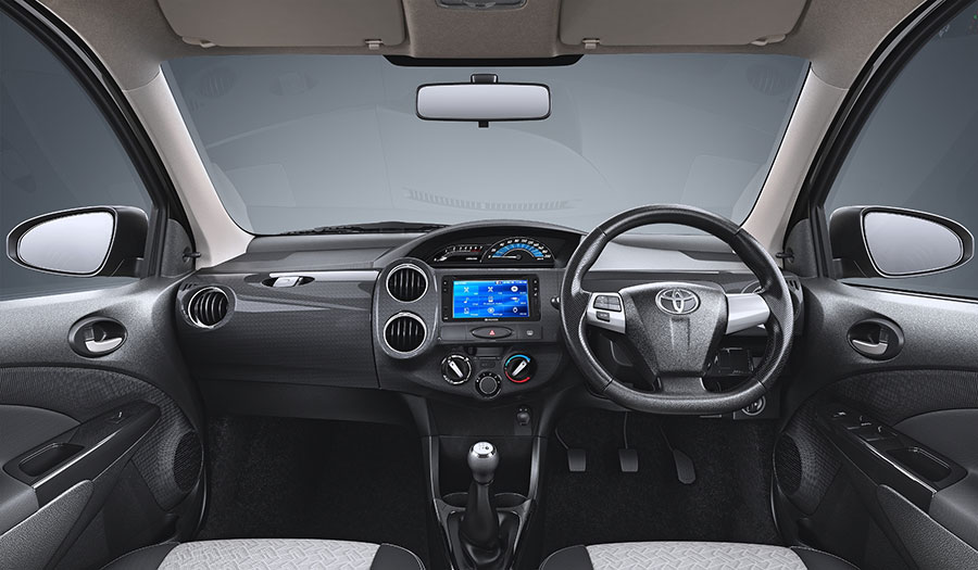 Toyota Etios Cross X Edition Interiors and Dashboard