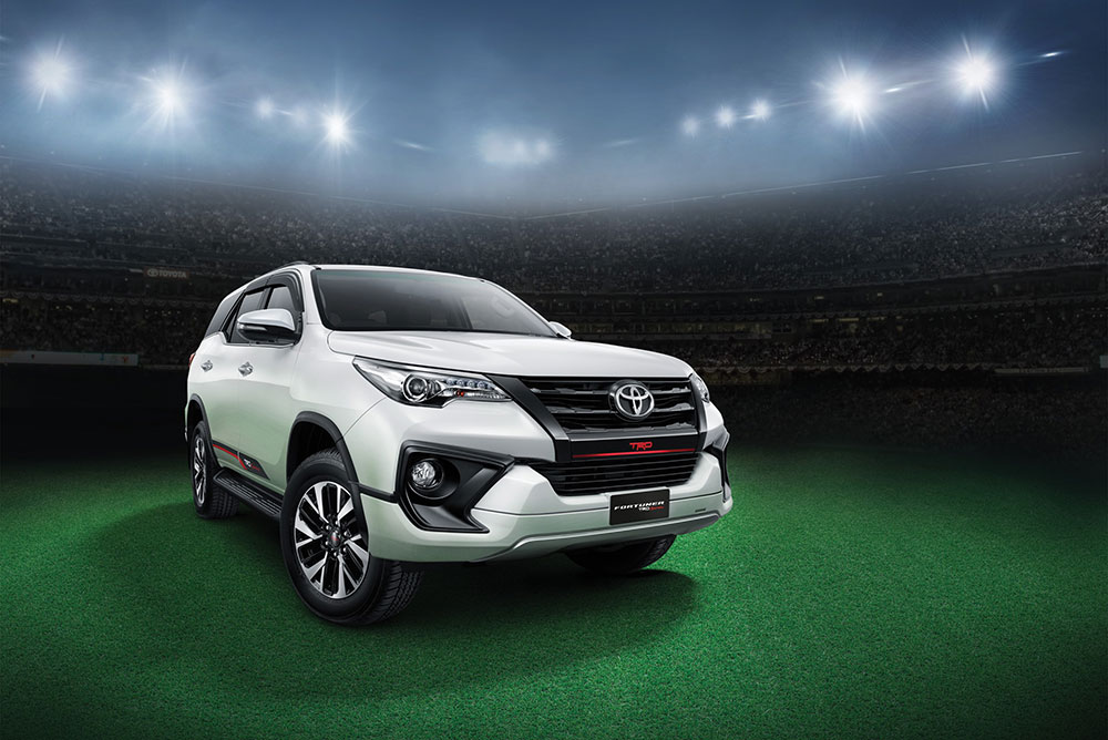 Toyota Fortuner TRD Sportivo Launch